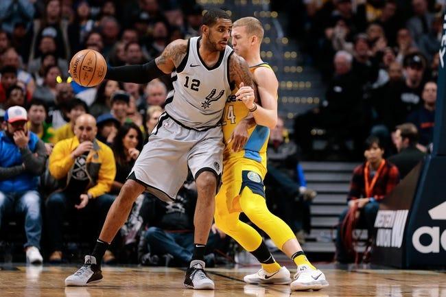 NBA | Denver Nuggets (21-10) at San Antonio Spurs (18-16)