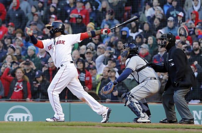 MLB | Tampa Bay Rays (1-6) at Boston Red Sox (6-1)