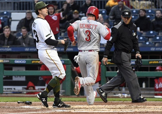 Pittsburgh Pirates vs. Cincinnati Reds - 4/6/18 MLB Pick, Odds, and Prediction