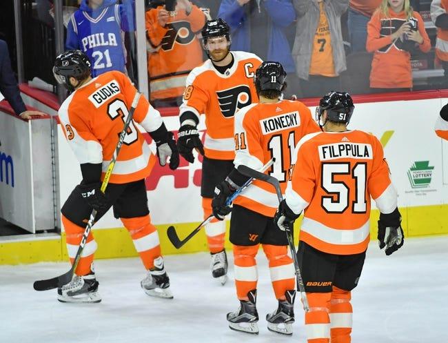 NHL | Philadelphia Flyers (15-17-5) at Carolina Hurricanes (15-17-5)