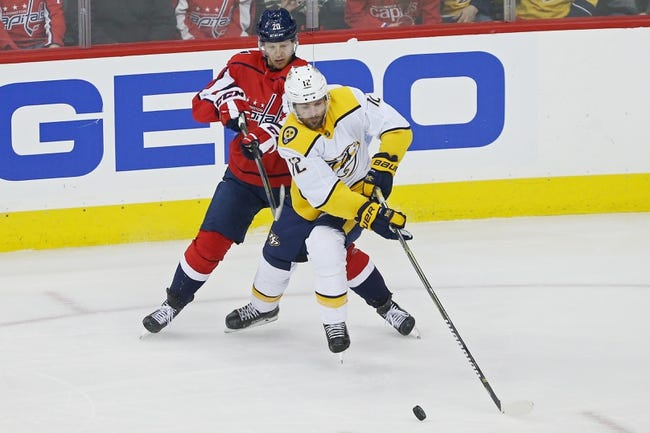 NHL | Nashville Predators (22-15-2) at Washington Capitals (24-10-3)