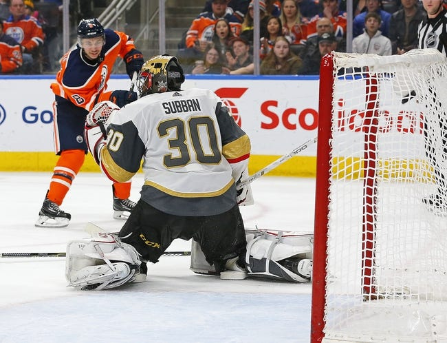 Edmonton Oilers vs. Vegas Golden Knights - 11/18/18 NHL Pick, Odds, and Prediction
