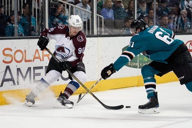 NHL | San Jose Sharks (21-13-7) at Colorado Avalanche (19-13-8)