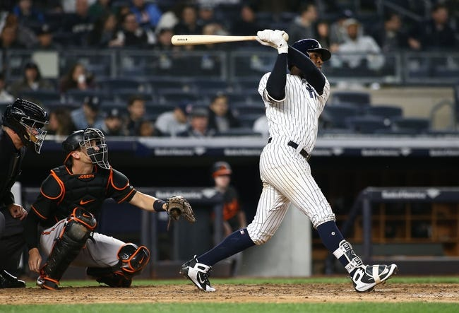 New York Yankees vs. Baltimore Orioles - 4/7/18 MLB Pick, Odds, and Prediction