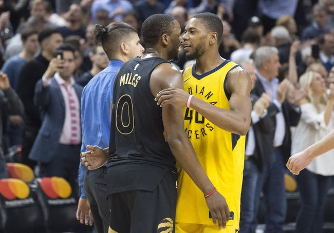 NBA | Indiana Pacers (20-11) at Toronto Raptors (23-9)