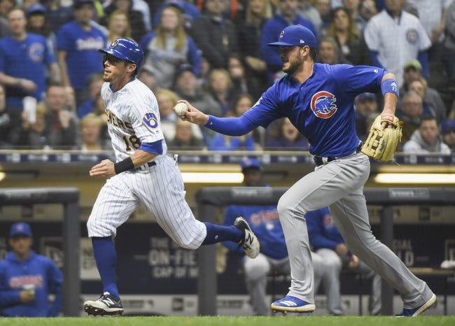 Milwaukee Brewers vs. Chicago Cubs - 4/7/18 MLB Pick, Odds, and Prediction
