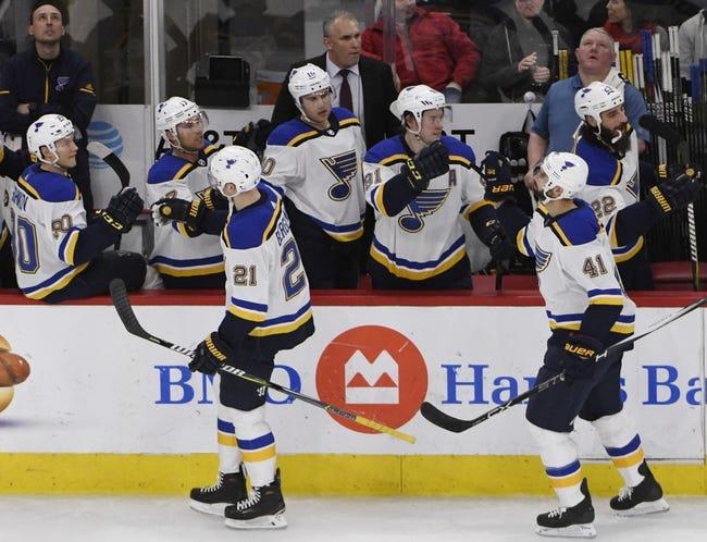 NHL | Chicago Blackhawks (1-0-0) at St. Louis Blues (0-1-0)