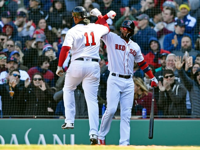 Boston Red Sox vs. Tampa Bay Rays - 4/8/18 MLB Pick, Odds, and Prediction