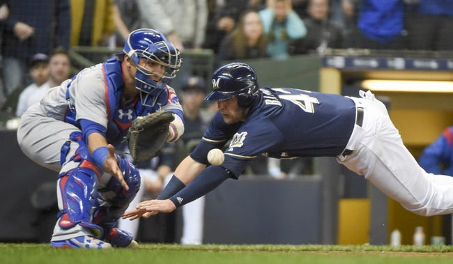 Milwaukee Brewers vs. Chicago Cubs - 4/8/18 MLB Pick, Odds, and Prediction