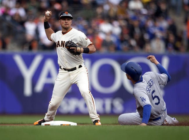 San Francisco Giants vs. Los Angeles Dodgers - 4/8/18 MLB Pick, Odds, and Prediction