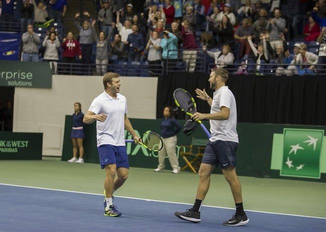 Jack Sock/Mike Bryan vs Daniele Bracciali/Andreas Seppi 2018 Wimbledon Doubles Tennis Pick, Preview, Odds, Predictions