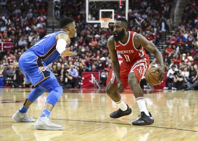 NBA | Oklahoma City Thunder (21-11) at Houston Rockets (17-15)