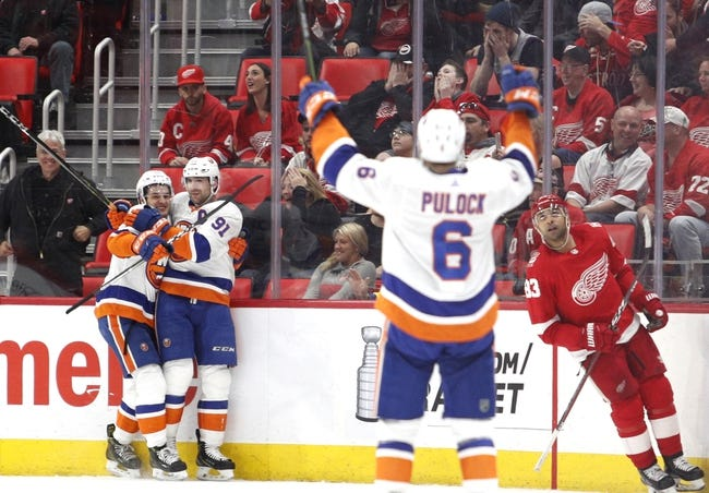 Detroit Red Wings vs. New York Islanders - 12/8/18 NHL Pick, Odds, and Prediction