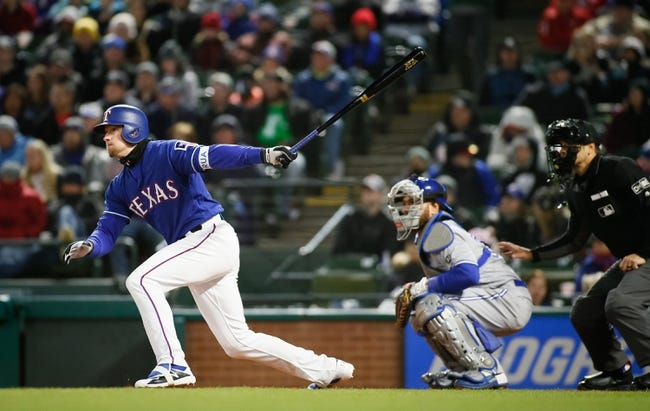Texas Rangers vs. Toronto Blue Jays - 4/8/18 MLB Pick, Odds, and Prediction