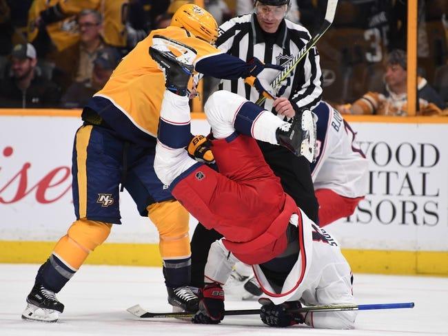 NHL | Nashville Predators at Columbus Blue Jackets