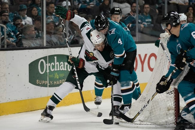 NHL | Minnesota Wild (8-3-2) at San Jose Sharks (7-4-3)