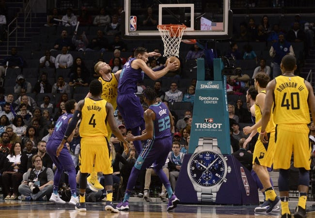 Indiana Pacers vs. Charlotte Hornets - 4/10/18 NBA Pick, Odds, and Prediction