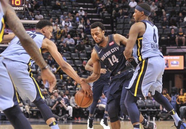 NBA | Detroit Pistons (16-19) at Memphis Grizzlies (18-18)