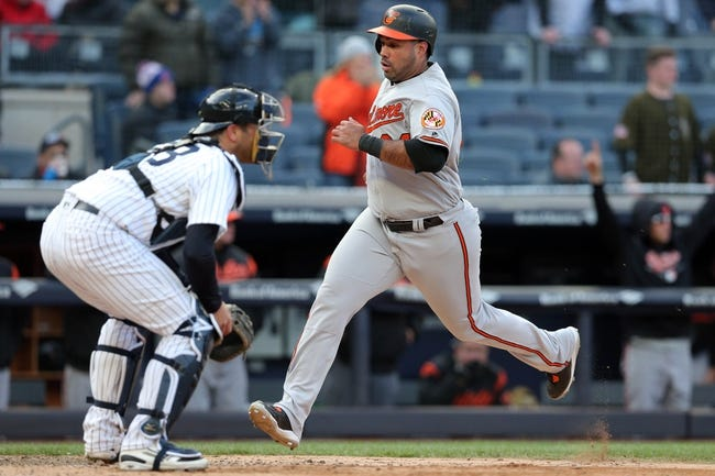 Baltimore Orioles vs. New York Yankees - 5/31/18 MLB Pick, Odds, and Prediction