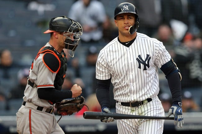 Baltimore Orioles vs. New York Yankees - 6/1/18 MLB Pick, Odds, and Prediction