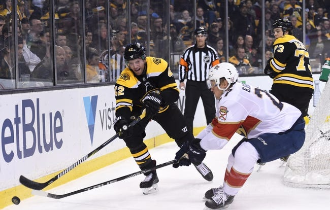 Florida Panthers vs. Boston Bruins - 12/4/18 NHL Pick, Odds, and Prediction
