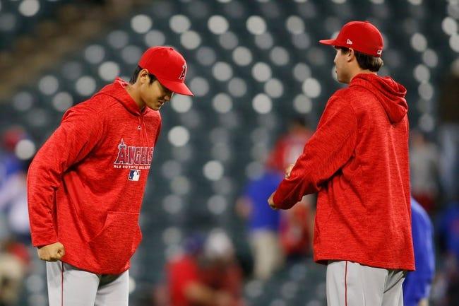 Texas Rangers vs. Los Angeles Angels - 4/10/18 MLB Pick, Odds, and Prediction