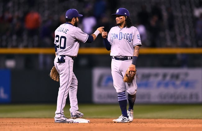 MLB | San Diego Padres (3-8) at Colorado Rockies (5-6)