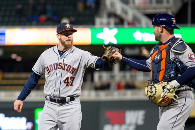 Minnesota Twins vs. Houston Astros - 4/10/18 MLB Pick, Odds, and Prediction