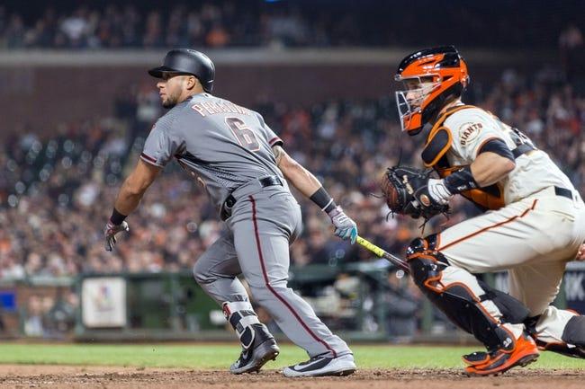 San Francisco Giants vs. Arizona Diamondbacks - 4/10/18 MLB Pick, Odds, and Prediction