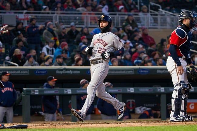 Minnesota Twins vs. Houston Astros - 4/11/18 MLB Pick, Odds, and Prediction
