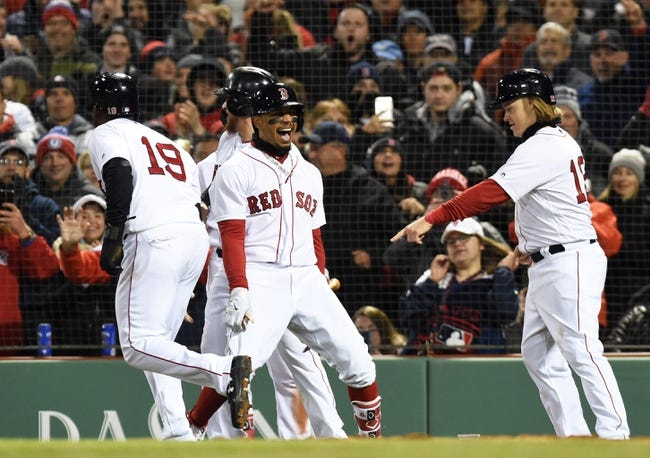 Boston Red Sox vs. New York Yankees - 4/11/18 MLB Pick, Odds, and Prediction