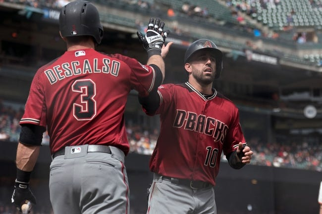 Arizona Diamondbacks vs. San Francisco Giants - 4/17/18 MLB Pick, Odds, and Prediction