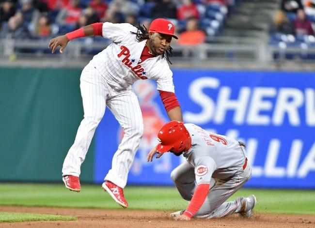 Cincinnati Reds vs. Philadelphia Phillies - 7/26/18 MLB Pick, Odds, and Prediction