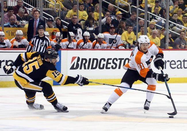Pittsburgh Penguins vs. Philadelphia Flyers - 4/13/18 NHL Pick, Odds, and Prediction