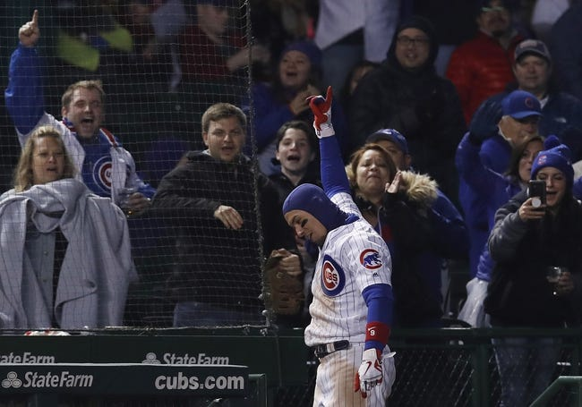 Chicago Cubs vs. Pittsburgh Pirates - 4/12/18 MLB Pick, Odds, and Prediction