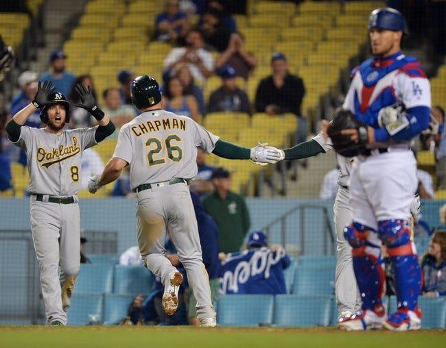 Oakland Athletics vs. Los Angeles Dodgers - 8/7/18 MLB Pick, Odds, and Prediction