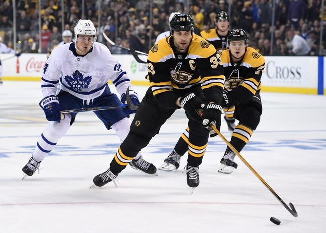 Boston Bruins vs. Toronto Maple Leafs - 4/14/18 NHL Pick, Odds, and Prediction