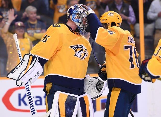 Nashville Predators vs. Colorado Avalanche - 4/14/18 NHL Pick, Odds, and Prediction