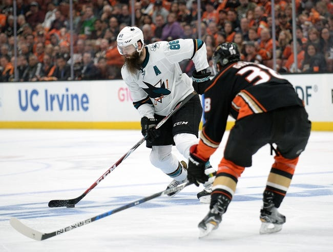 Anaheim Ducks vs. San Jose Sharks - 4/14/18 NHL Pick, Odds, and Prediction