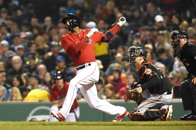 Boston Red Sox vs. Baltimore Orioles - 4/14/18 MLB Pick, Odds, and Prediction