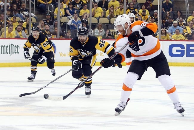 Philadelphia Flyers vs. Pittsburgh Penguins - 4/15/18 NHL Pick, Odds, and Prediction