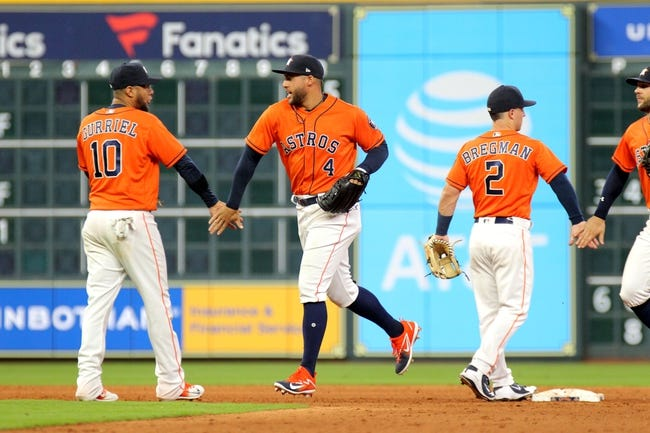 Houston Astros vs. Texas Rangers - 4/14/18 MLB Pick, Odds, and Prediction