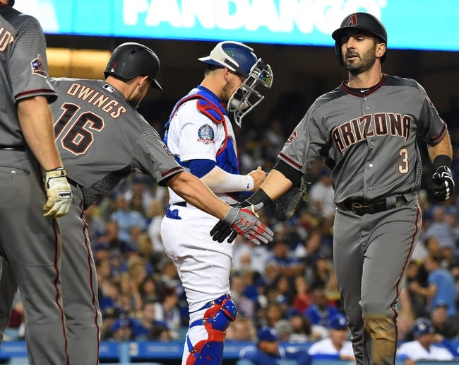 Los Angeles Dodgers vs. Arizona Diamondbacks - 4/14/18 MLB Pick, Odds, and Prediction