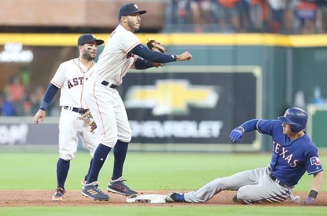 Houston Astros vs. Texas Rangers - 4/15/18 MLB Pick, Odds, and Prediction