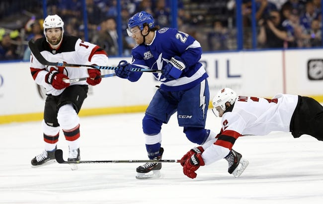 New Jersey Devils vs. Tampa Bay Lightning - 4/16/18 NHL Pick, Odds, and Prediction