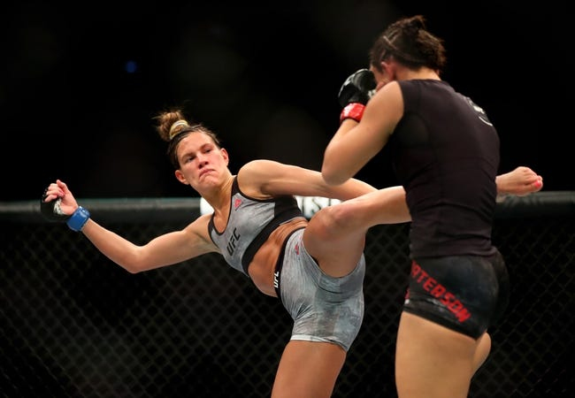 Cortney Casey vs Angela Hill UFC Pick, Preview, Odds, Prediction - 8/25/18