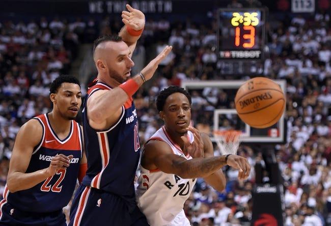Toronto Raptors vs. Washington Wizards - 4/17/18 NBA Pick, Odds, and Prediction
