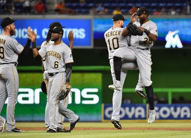 Miami Marlins vs. Pittsburgh Pirates - 4/15/18 MLB Pick, Odds, and Prediction