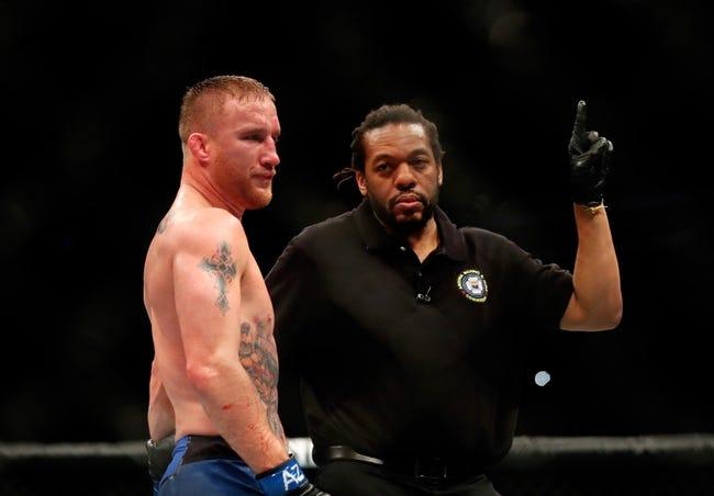Justin Gaethje vs. James Vick UFC Pick, Preview, Odds, Prediction - 8/25/18