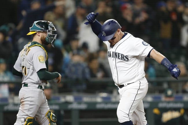 Seattle Mariners vs. Oakland Athletics - 4/15/18 MLB Pick, Odds, and Prediction